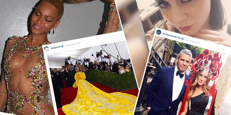 Die Instagram-Snaps der Met Gala Stars