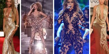 So dreist kopiert J-Lo Beyoncés Looks
