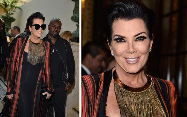 Kris Jenner, was eine miese Make-Up-Maske!