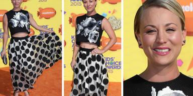 Kaley Cuoco bei den Kids Choice Awards