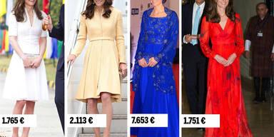 Kate's Indien-Garderobe