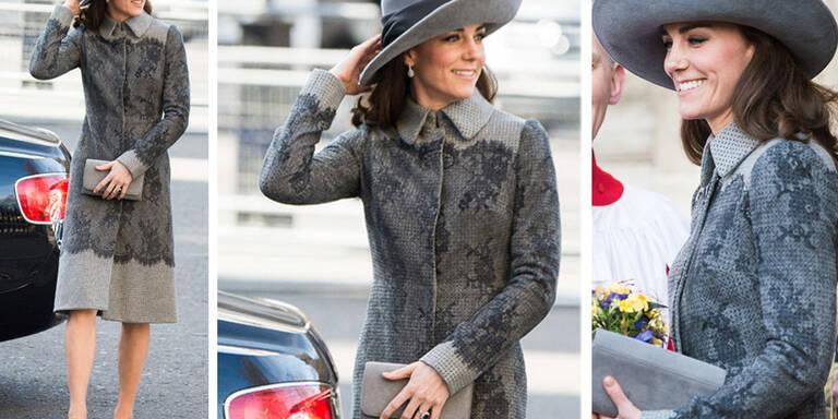 Darum ist Kate Middleton die Style-Queen