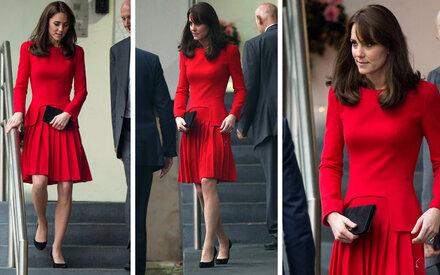 Kate Middleton, so dürr warst du noch nie!