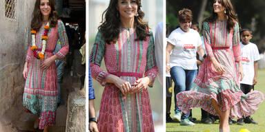 Herzogin Kate in Indien