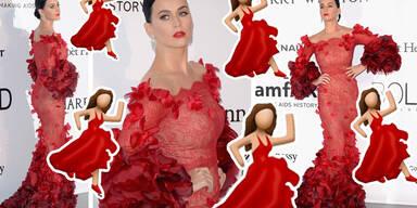 Katy Perry - Als Tango-Emoji in Cannes