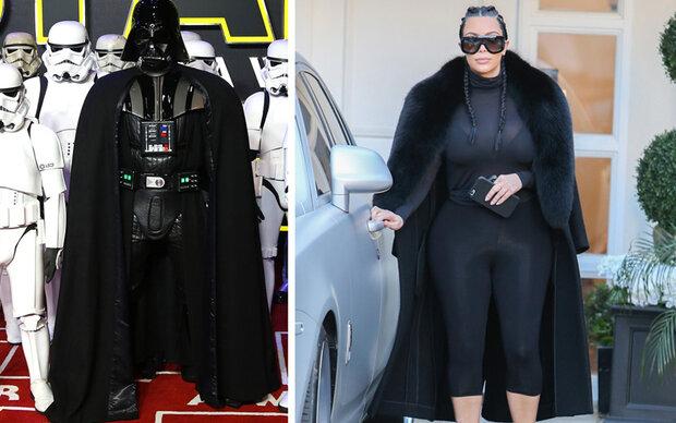 Wer ist Darth Vader, wer ist Kim Kardashian?