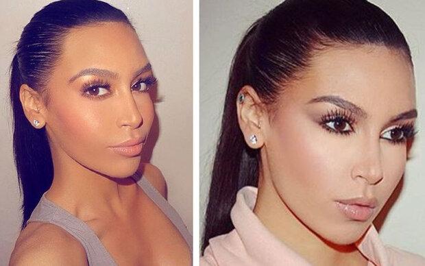 Nein, das ist NICHT Kim Kardashian!