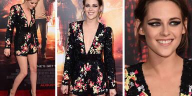 Kristen Stewart strahlt auf Filmpremiere
