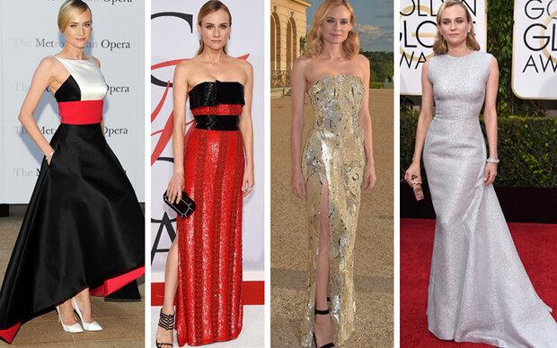 Der coole Look von Stilikone Diane Kruger