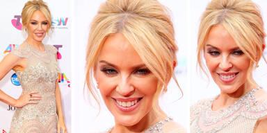 Kylie Minogue schockt mit Botox-Fratze