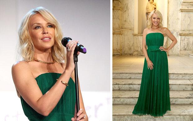 Kylie Minogue wird immer schöner!