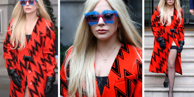 Lady Gaga, frierst du denn nicht?