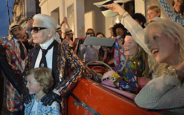 Chanel feierte erste Mode-Show in Havanna
