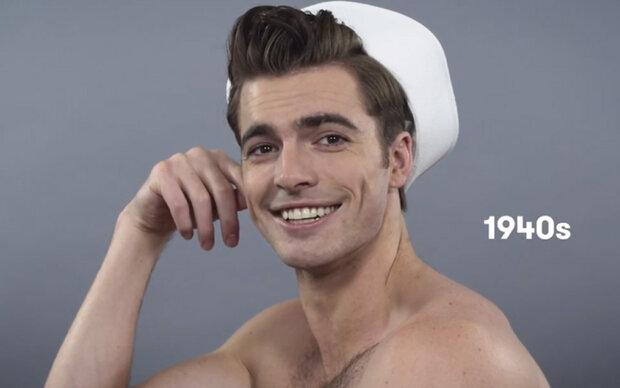 100 Jahre Männer-Haartrends in 90 Sekunden