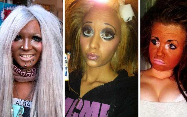 Die 35 größten Make-Up-Fails aller Zeiten
