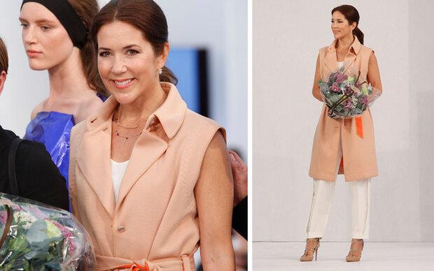 Die schönste Frau der Fashion Week