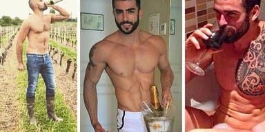 Instagram-Trend: Men & Wine