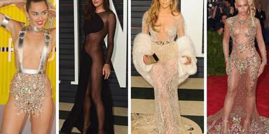 Die nacktesten Kleider 2015