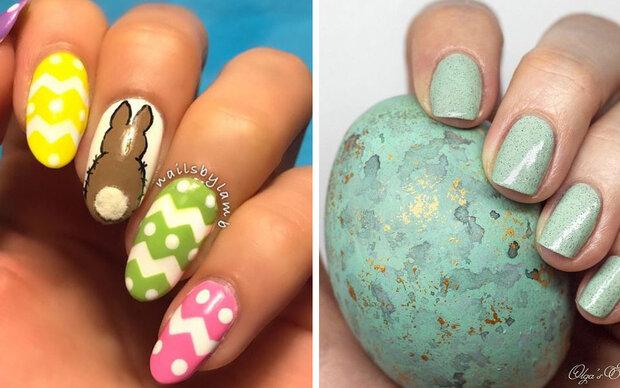 So gibt's Ostern auch auf den Nägeln