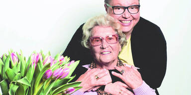 Sabine Oberhauser und ihre Mutter im Talk