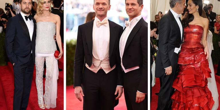 Die stylischsten Paare der Met-Gala