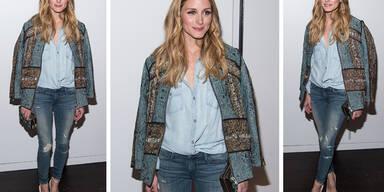 Olivia Palermos lässiger Jeans-Look