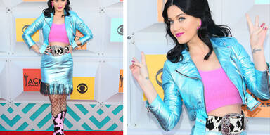 Katy Perry als schrilles Cowgirl