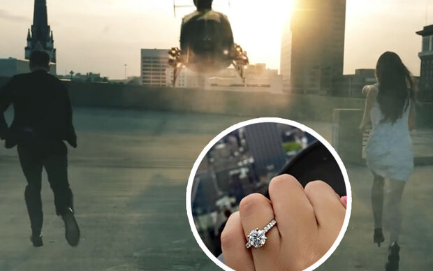 Verlobung nach Helikopter-Crash