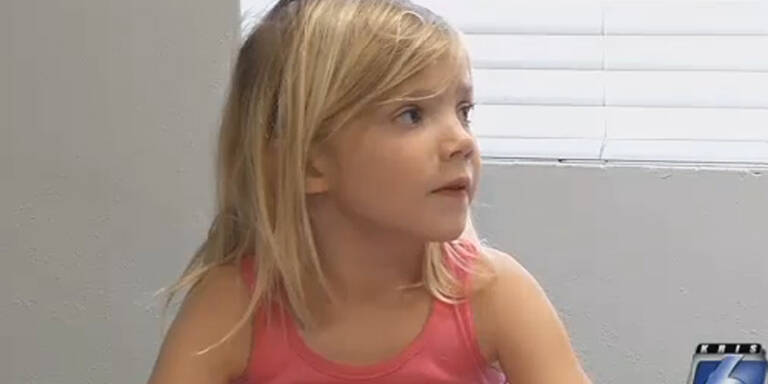 5-Jährige rettete ihrer Mama das Leben