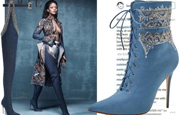 Rihanna designt jetzt für Manolo Blahnik
