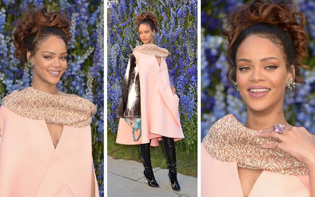 Für Dior zeigt sich Rihanna elegant wie nie