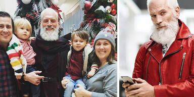 Paul Mason, der Fashion Santa aus Canada