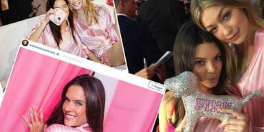 Die 24 besten Selfies der Victoria's Secret Show