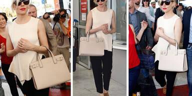 Sienna Miller kommt in Cannes an