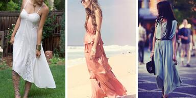Die coolsten Kleider bei heißen Graden