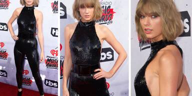 Taylor Swift im Glitzer-Catsuit