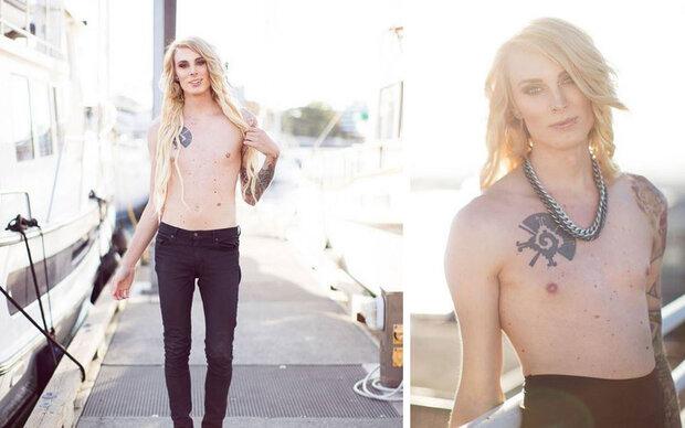 Transgender-Frau kämpft gegen Nippelverbot