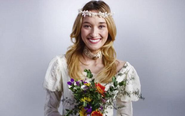 100 Jahre Brautkleider in 3 Minuten