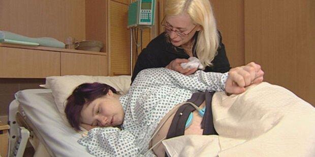 Denise bekommt Baby ohne Vater