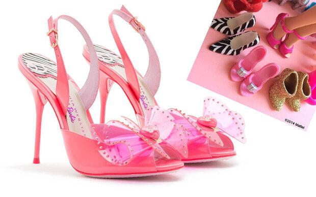 Nun gibt es Barbies Schuhe in unserer Größe!