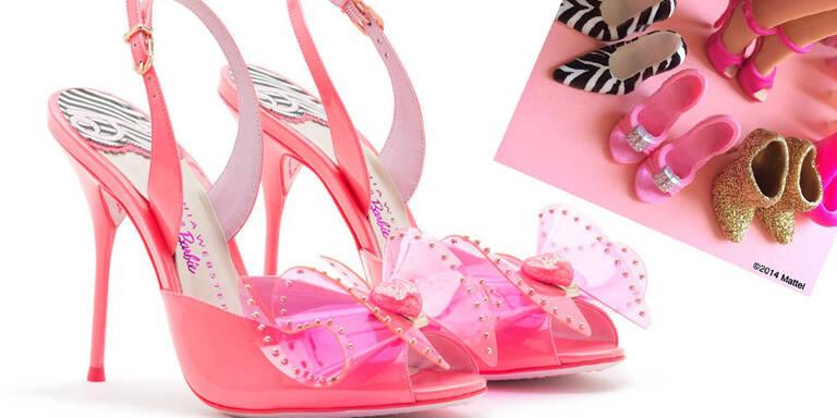 Dank Designerin Sophia Webster gibt es die Barbie-Schuhe jetzt wirklich!