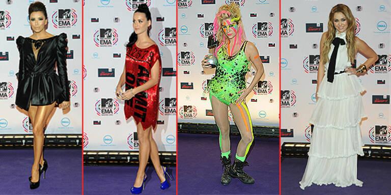 Die coolsten Looks der MTV EMAs 2010