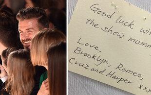 Beckhams auf der NYFW: Stolze Familie unterstützt Victoria