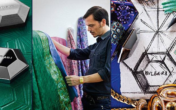 Kultdesigner entwirft jetzt Bags für Bulgari!