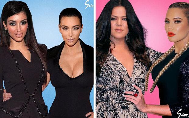 So arg haben sich die Kardashians verändert