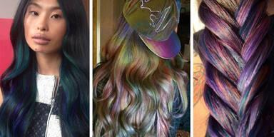Farbtrend Oilslick-Hair