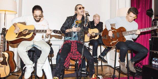Tokio Hotel als Mini-Konzert