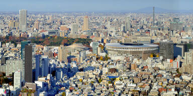 Corona-Explosion in Olympia-Stadt Tokio