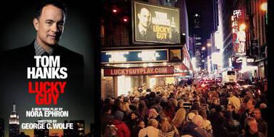 """Tom Hanks """"Lucky Guy"""""""