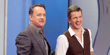 Tom Hanks und Markus Lanz